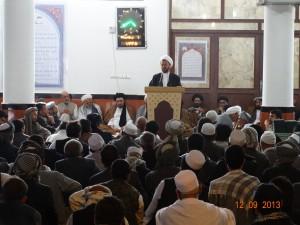 چهلمین سالگرد ارتحال ملکوتی آیت الله العمظی میر علی احمد حجت